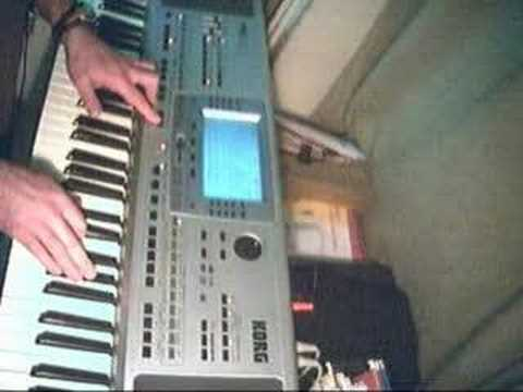 THRILLER WITH A KORG PA50