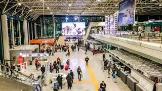 Leonardo da Vinci–Fiumicino Airport FCO in Rome, Italy