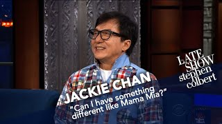 Jackie Chan Has Done Everything But 'Mamma Mia!'