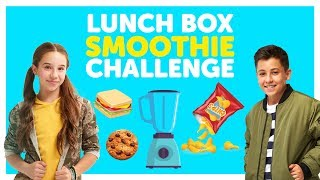 Lunch Box Smoothie Challenge with The KIDZ BOP Kids