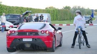 Bikers Rio Pardo | Vídeos | Francês é mais rápido que Ferrari e atinge 333 km/h com bike-foguete