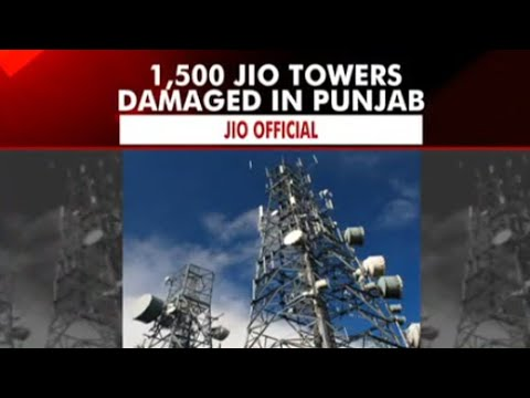 1,500 Jio mobile towers damaged in Punjab; CM Amarinder directs police to take strict action