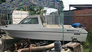 0903070753 - Keishin Machinery tàu câu cano du lịch nhập khẩu Nhật hiệu Nisan, động cơ 90hp