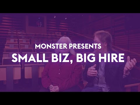 Small Biz, Big Hire: Meyer Sound. As a small business owner, growing your business means finding the right talent. In this series, 'Small Biz, Big Hire,' we chronicle a few small businesses who have been able to realize success as a result of strong hiring decisions with the help of Monster.