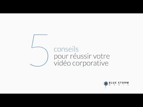 5 conseils pour réussir votre vidéo corporative