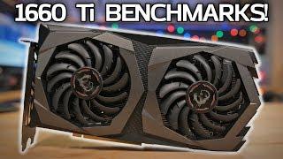 GTX 1660 Ti BENCHMARKS vs RTX 2060, GTX 1060 & RX 590