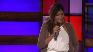 Comedian Aida Rodriguez on Nickelodeon's Mom Night Out