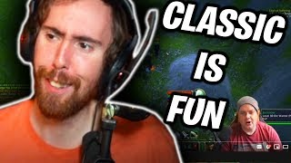 """Asmongold Reactions """"Why has Classic been so fun for me?"""" by Preach Gaming"""