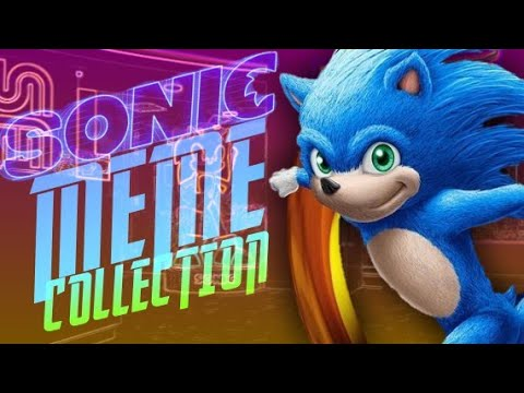 SONIC MEME COLLECTION (SONIC MOVIE EDITION)