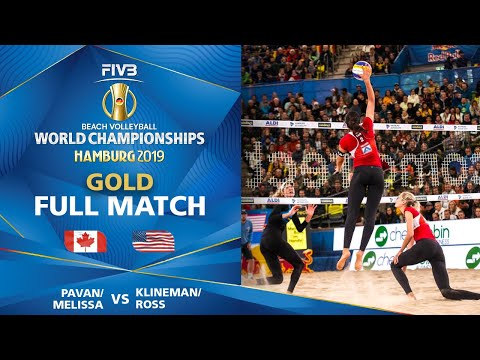 Pavan/Melissa vs. Klineman/Ross - FINAL | Beach Volleyball World Champs Hamburg 2019