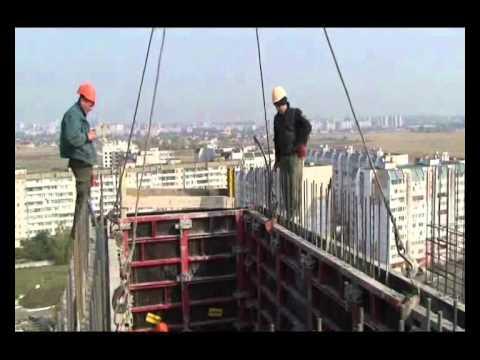Robud Dismantling Of Elevator Shaft Formwork Wmv Youtube