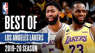 Best Of Los Angeles Lakers | 2019-20 NBA Season