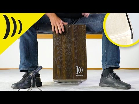 Schlagwerk SchlagwerkCP408  Cajon 2 in One - Dark Oak