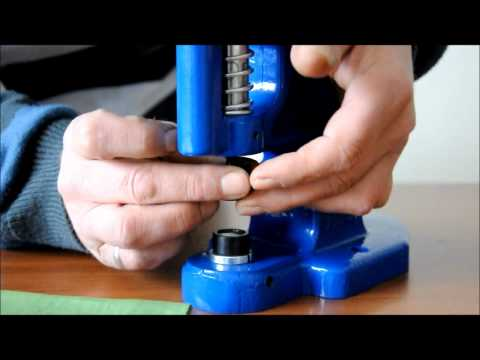 Micron TEP-1 Grommet Attaching machine Spring Snap Installation