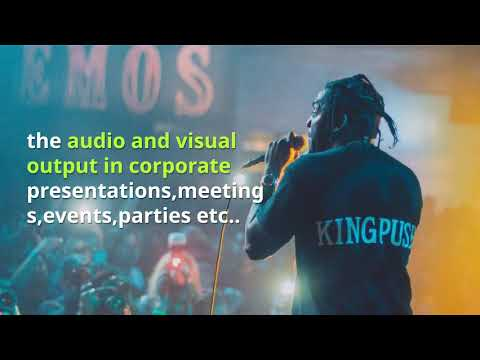 Audio Visual Rental - AV Rentals in Dubai - Audio Visual