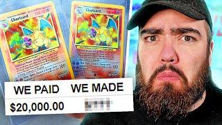 Did We Make PROFIT on our £20,000 Base Set Pokémon Box?