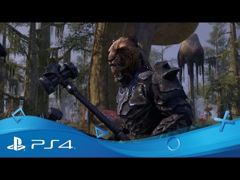 The Elder Scrolls Online | Primo trailer dell'azione di gioco | PS4
