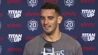 #Titans QB Marcus Mariota's Post-Practice press conference