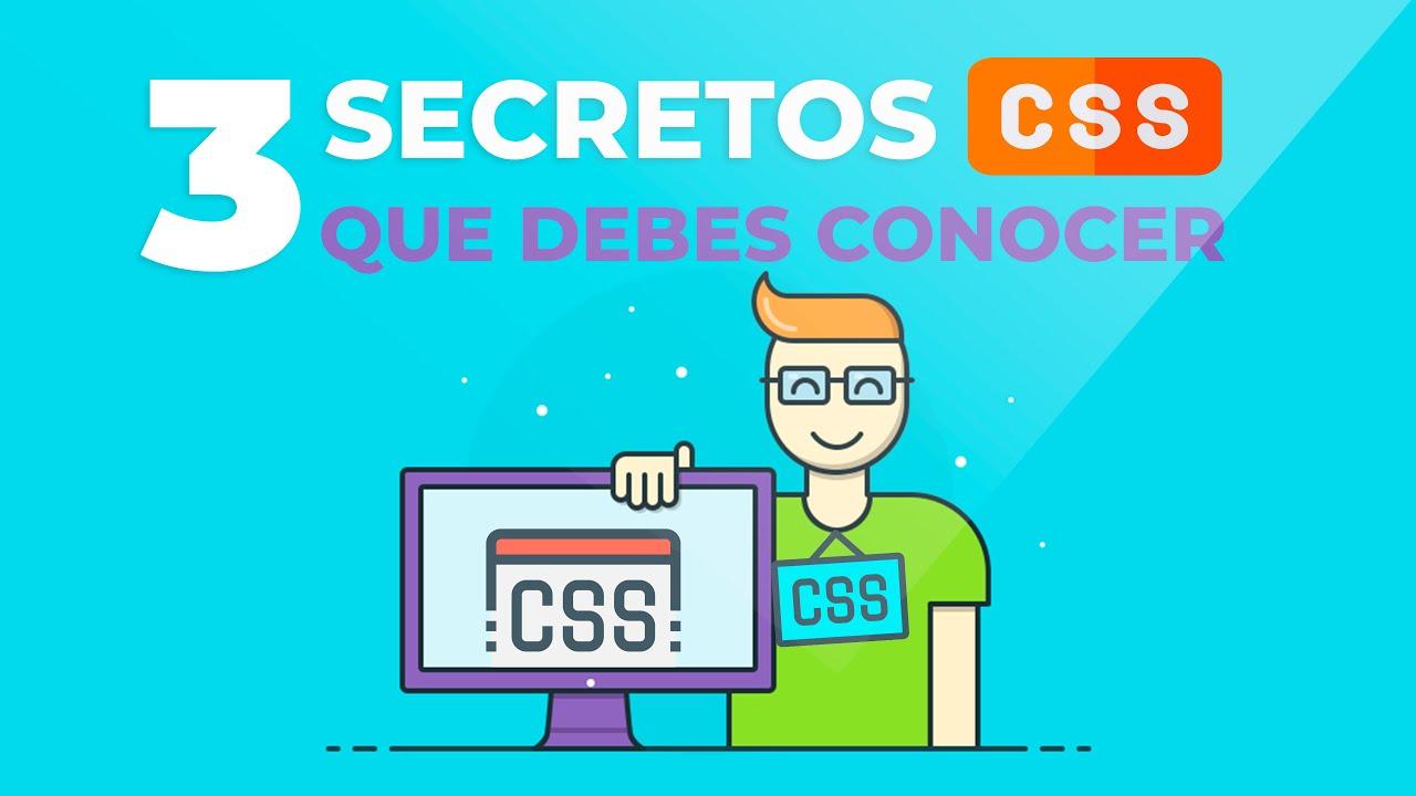 🛠3 TRUCOS CSS que NO CONOCÍAS (Usado SÓLO por EXPERTOS)