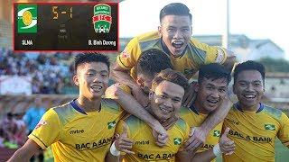 Tổng hợp trận chung kết lượt về Cúp Quốc gia, SLNA 5-1 B. Bình Dương