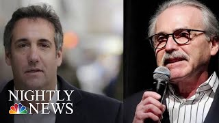National Enquirer Publisher Granted Immunity In Michael Cohen Case | NBC Nightly News