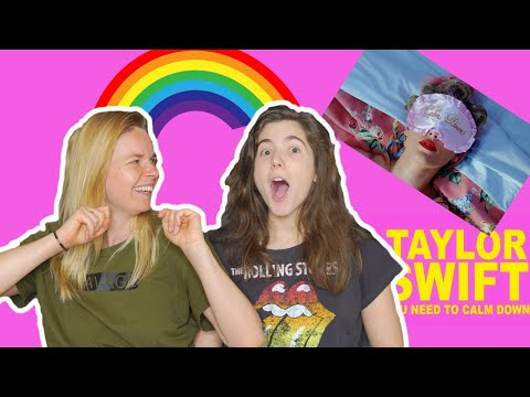 YOU NEED TO CALM DOWN | Taylor Swift - GAY Reaction !