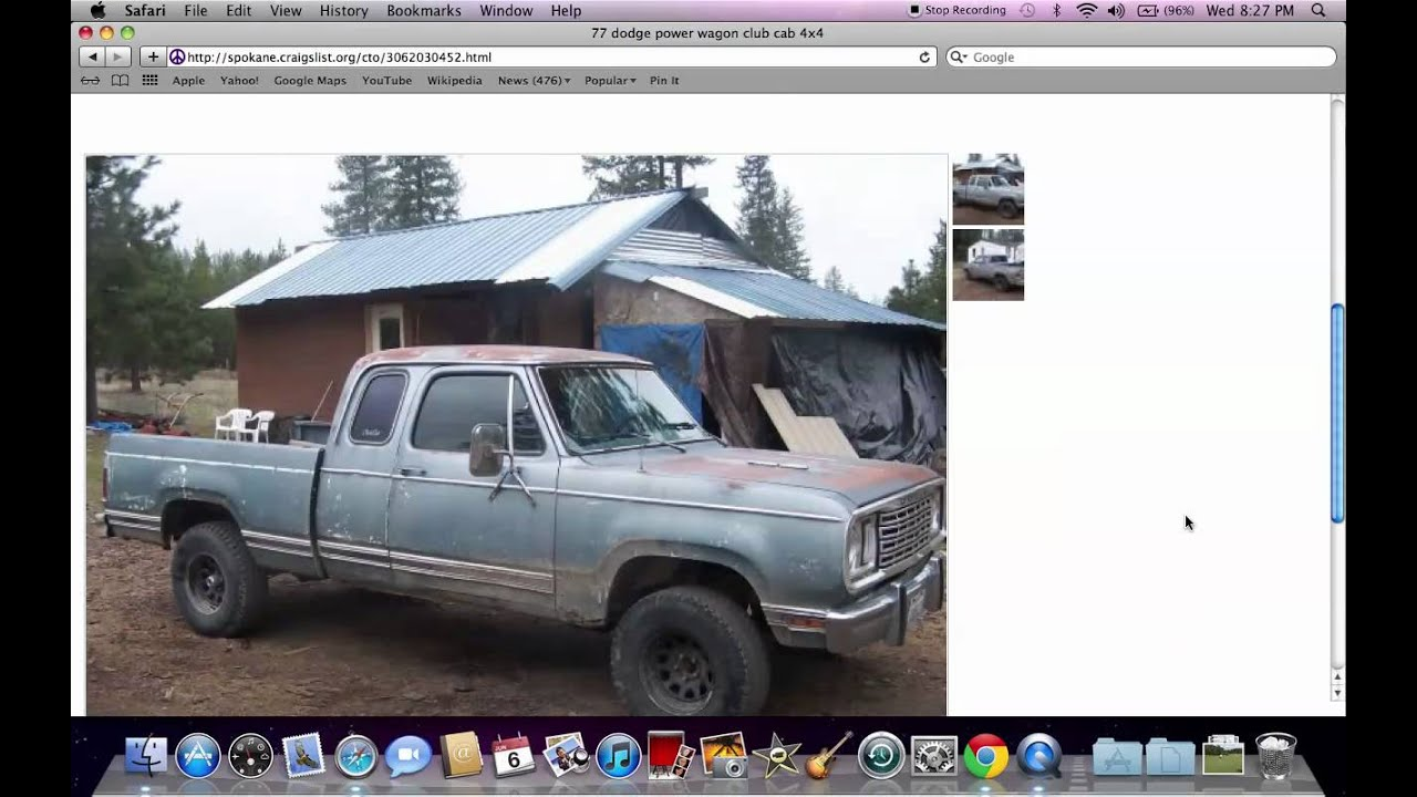 craigslist spokane washington local private used cars for sale by owner under 500 youtube. Black Bedroom Furniture Sets. Home Design Ideas
