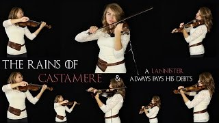 The Rains of Castamere and A Lannister Always Pays His Debts (Violins Cover) - Taylor Davis