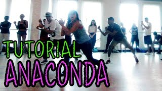 ANACONDA – Nicki Minaj Dance TUTORIAL Choreography