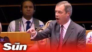 Farage: 'You patronising stuck up snob!'