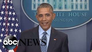 LIVE: Obama Final Press Conference of His Presidency | ABC News