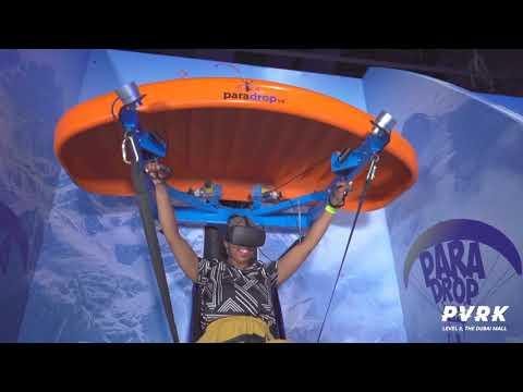 Il primo esemplare di ParadropVR al VR Theme Park di Dubai