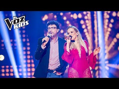 Fanny Lu y Andrés Cepeda cantan Amor Verdadero | La Voz Kids Colombia 2018