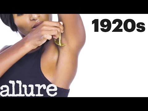 100 Years of Hair Removal   Allure