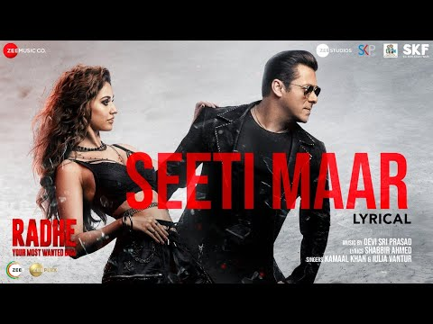 Lyrical video 'Seeti Maar' from Radhe starring Salman Khan, Disha Patani