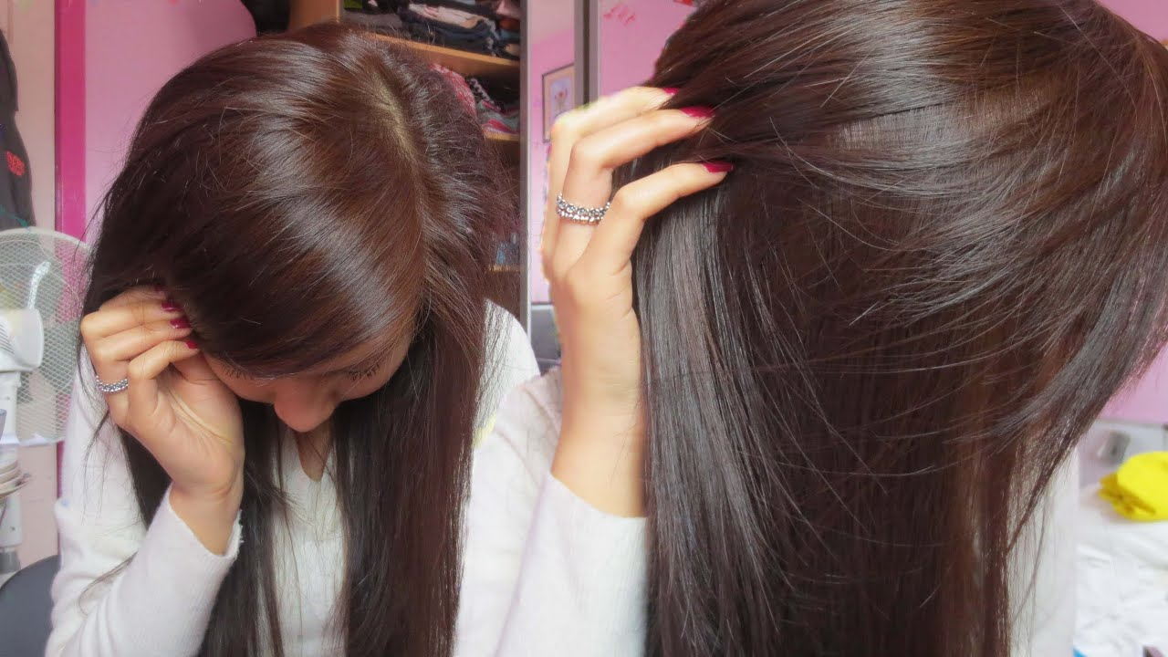 How To Dye Black Hair to Brown (without bleaching) - very ...
