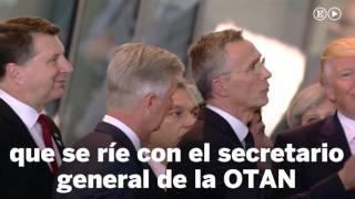 El empujón de Trump al primer ministro de Montenegro | Internacional