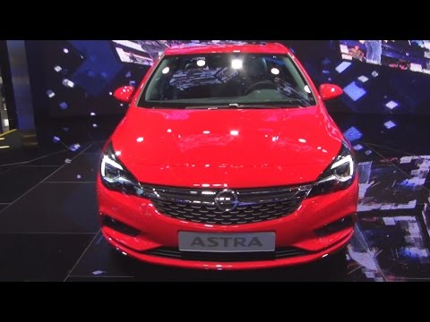 Opel Astra BiTurbo (2016) Exterior and Interior in 3D