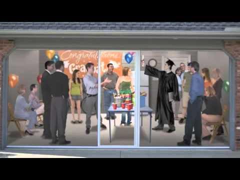 Geneva 60134 Garage Doors offers Lifestyle Garage Screens for Northern Illinois