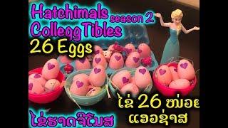 26 eggs Hatchimals CollEGGtibles Season 2 Hatching Surprise Blind Bag Baby Animal Eggs with My Elsa