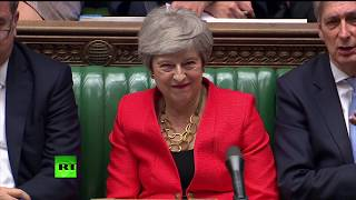 LIVE: Theresa May gives statement on the European Council