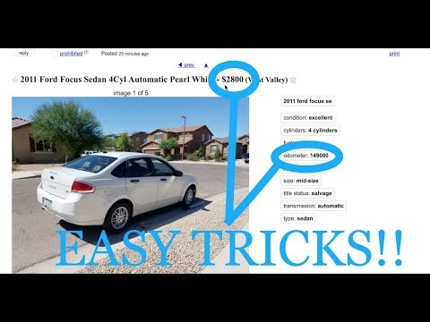 How to Find KILLER Deals on Used Cars!