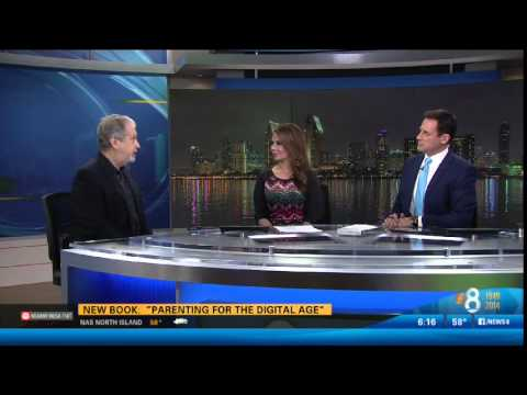 Parenting for the Digital Age Press Tour: CBS News 8 San Diego
