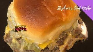 Tasty Cheeseburger Sliders