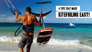 4 Tips That Make Learning How To Kite Foil EASY!