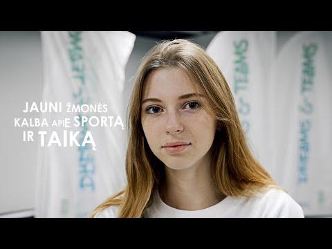 Mokinių mintys apie sportą ir taiką