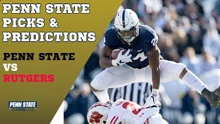 Penn State vs Rutgers Picks and Predictions | Penn State Football 2018