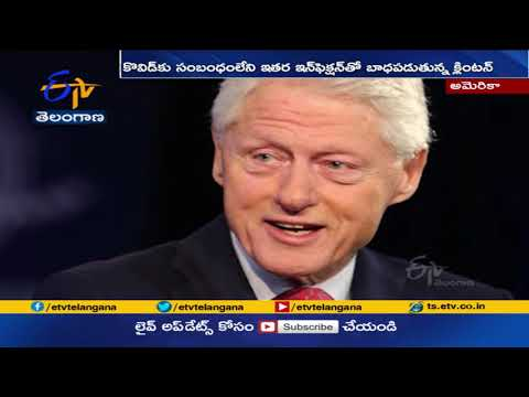 Bill Clinton is hospitalized for infection