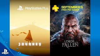 PlayStation Plus free games for September include Journey and Lords of the Fallen