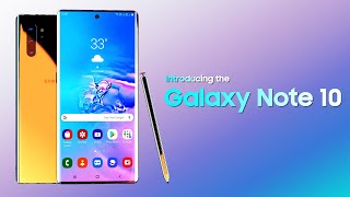 Samsung Galaxy Note 10 : Trailer